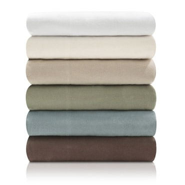 Stacked flannel sheets