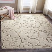 rug style shag area diamond overstock garden hudson rugs grey safavieh ivory cat less for home