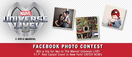 Marvel Universe LIVE! Facebook Photo Contest