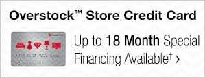 Overstock™ Store Credit Card - Up to 18 Month Special Financing Available†