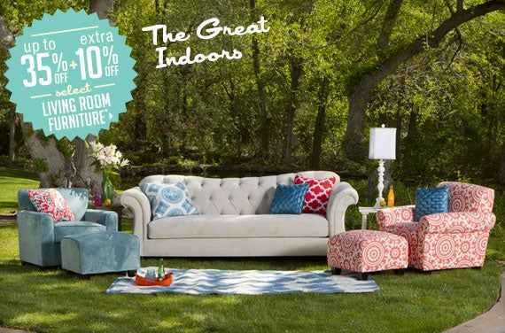 Up To 35 Off Extra 10 Off Select Living Room Furniture