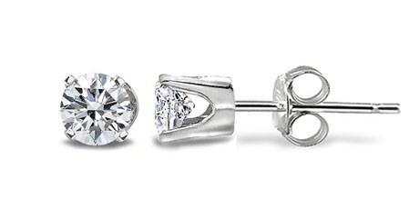 14k White or Yellow Gold 1/3ct TDW Diamond Stud Earrings