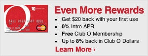 Overstock.com MasterCard Card