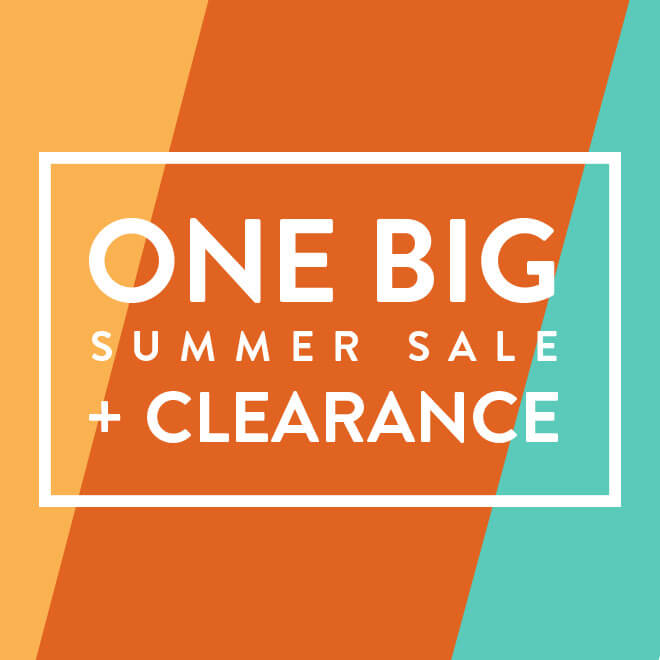 Extra 25-50% off One Big End of Summer Sale & Clearance