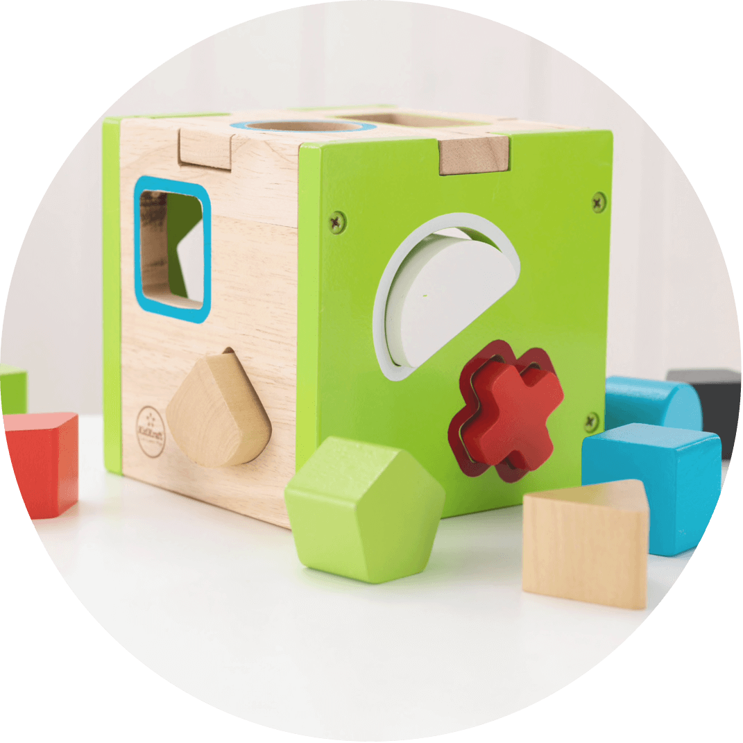 An educational building block, a great Christmas gift for kids