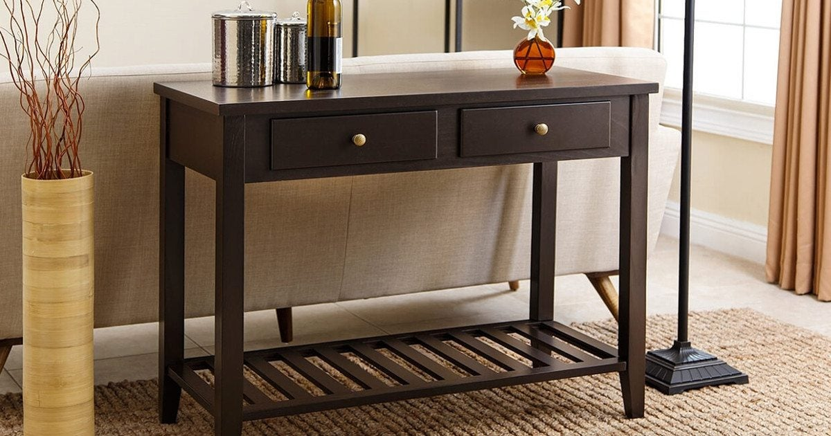 4 Easy Tips For Picking The Perfect Sofa Table Overstock Com