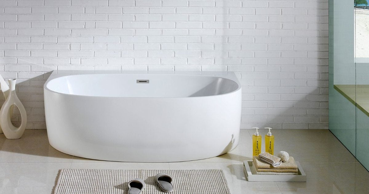 4 frequently asked questions about soaking tubs - overstock