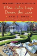 Miss Julia Lays Down the Law (Paperback)
