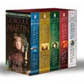 A Song of Ice and Fire Set: A Game of Thrones / A Clash of Kings / A Storm of Swords / A Feast for Crows / A Danc... (Paperback)