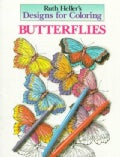 Butterflies Coloring Book (Paperback)