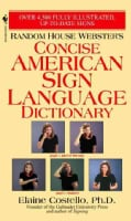 Random House Webster's Concise American Sign Language Dictionary (Paperback)