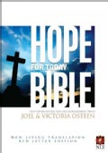 Hope for Today Bible New Living Translation, Red Letter Edition (Hardcover)