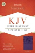 Holy Bible: King James Version, Purple, LeatherTouch, Super Giant Print Reference Bible (Paperback)