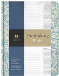 The Holy Bible: Holman Christian Standard Bible, Notetaking, Blue Floral (Hardcover)