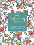 Posh Coloring Book Vintage Designs for Fun & Relaxation (Paperback)