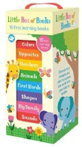 Little Box of Books: 10 First Learning Books (Board book)