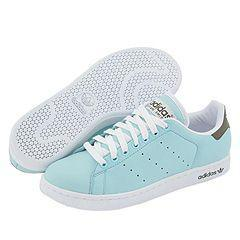 adidas Originals Stan Smith II (Lea) W Ice Blue/White/Off Road