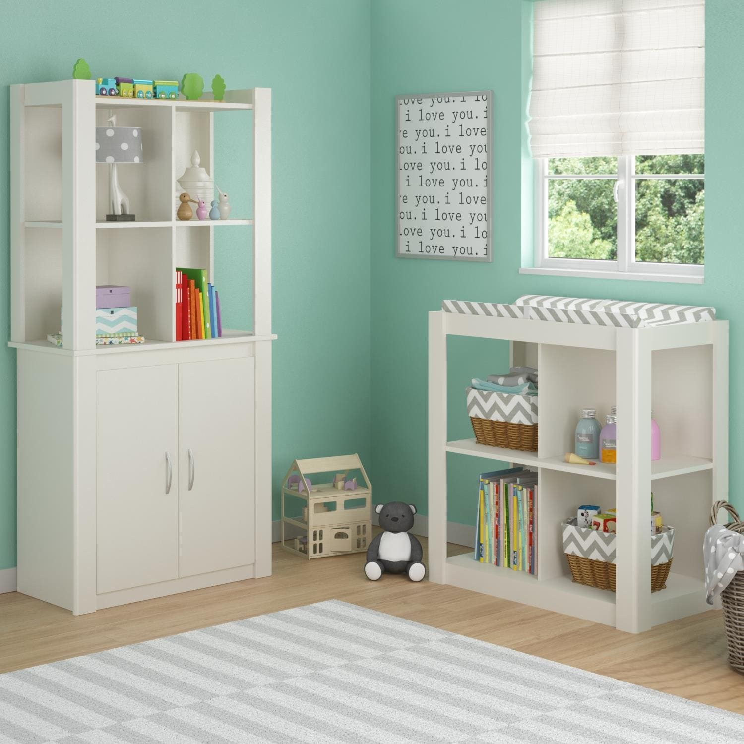 Ameriwood Home Riley Baby Changing Table By Cosco Free Shipping Today 10001157