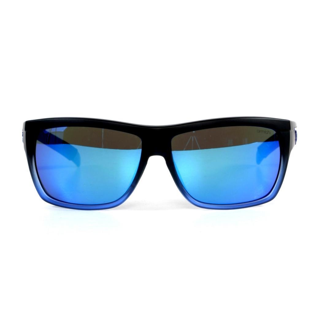 b62c3670409dd Shop Smith Men s Black n Blue Mastermind Sunglasses with Blue Sol-X Lenses  - Free Shipping Today - Overstock - 10002239