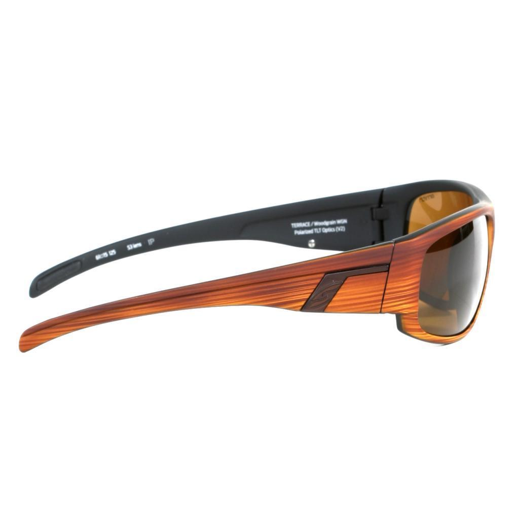53751f738f Shop Smith Men s Woodgrain Terrace Sunglasses with Polarized Brown Lenses -  Free Shipping Today - Overstock - 10002253