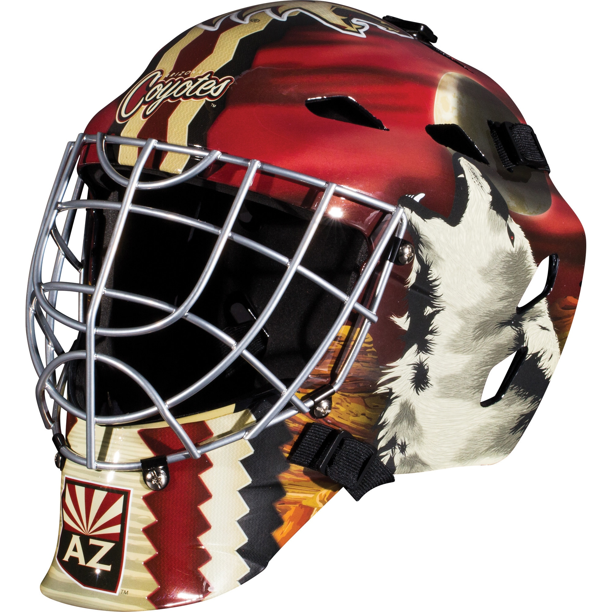 the latest 7cbbe eb667 Shop Franklin Sports NHL Team Goalie Mask - One Size Fits most - Free  Shipping On Orders Over  45 - Overstock - 10003511