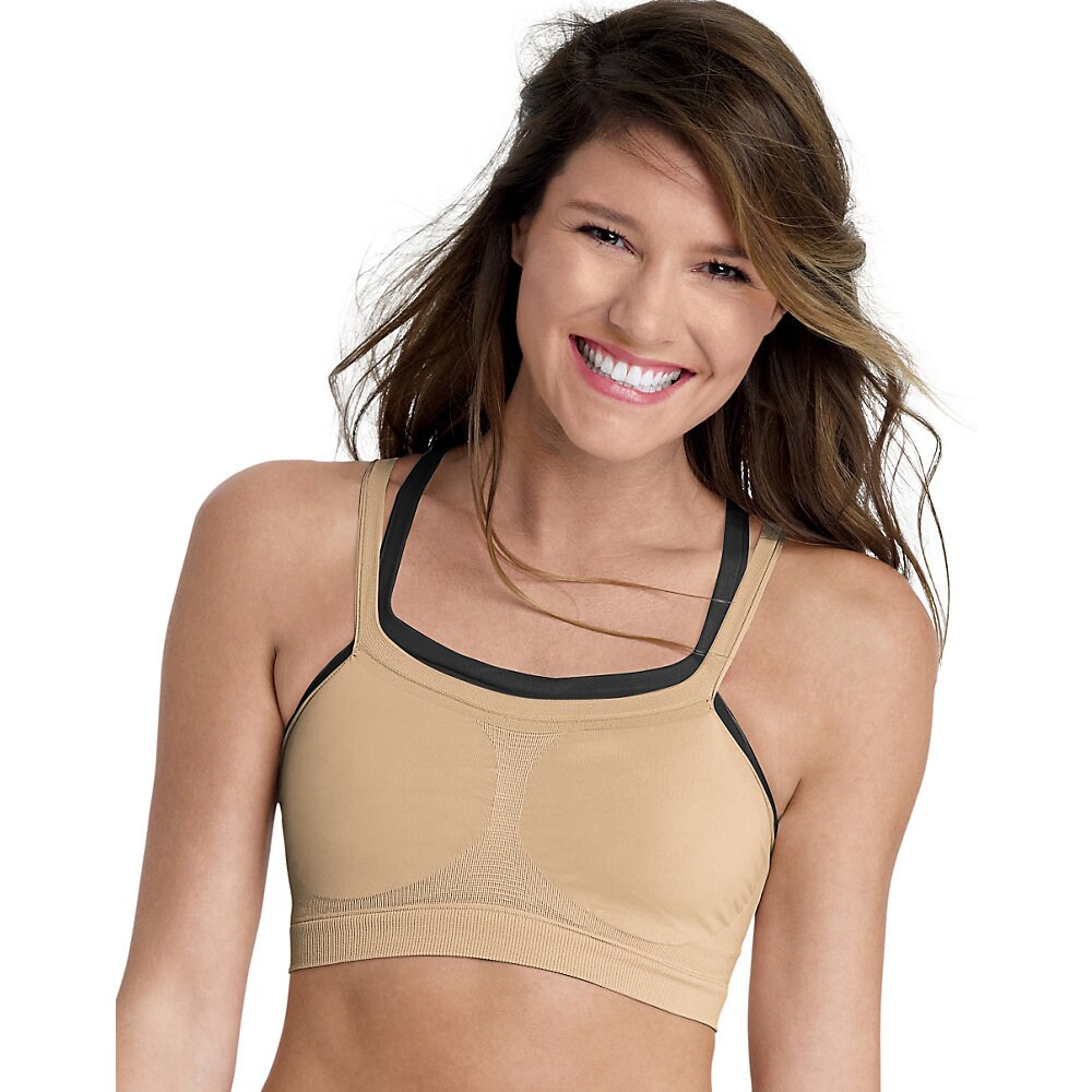 2c4d0ed538 Shop The Bandini by Hanes ComfortFlex Fit Bra 2-Pack - Free Shipping On  Orders Over  45 - Overstock - 10003696