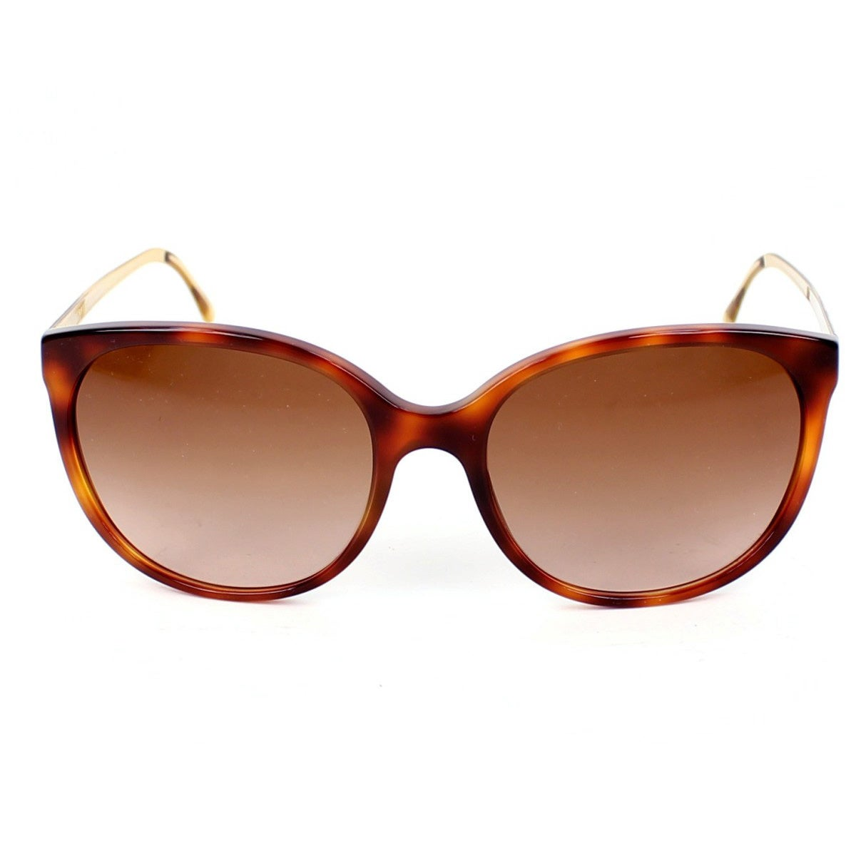e8f342ac8665 Shop Burberry BE4146 Women's 340713 Havana Plastic Sunglasses - Free  Shipping Today - Overstock - 10006488