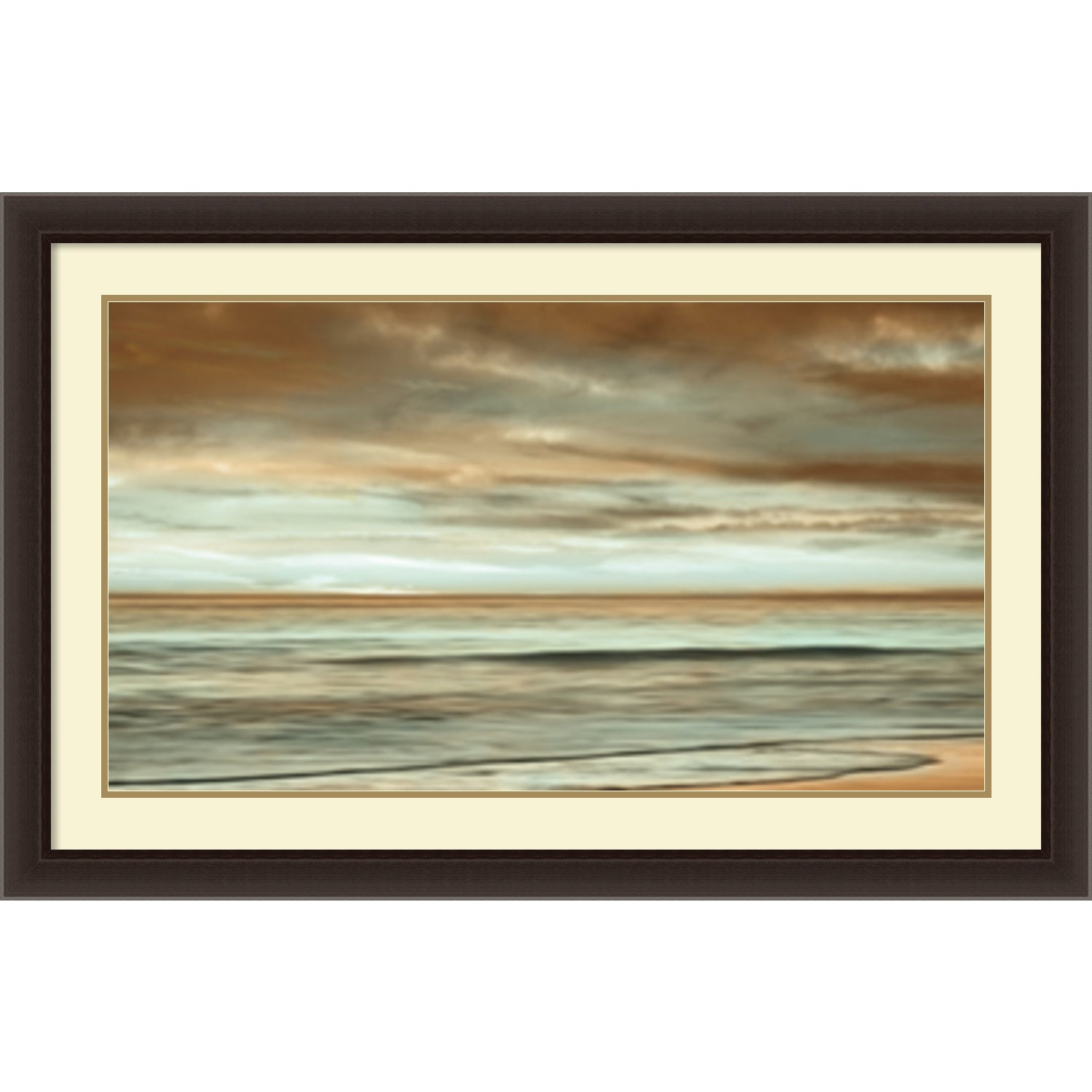 shop framed art print the surf by john seba 44 x 28 inch free