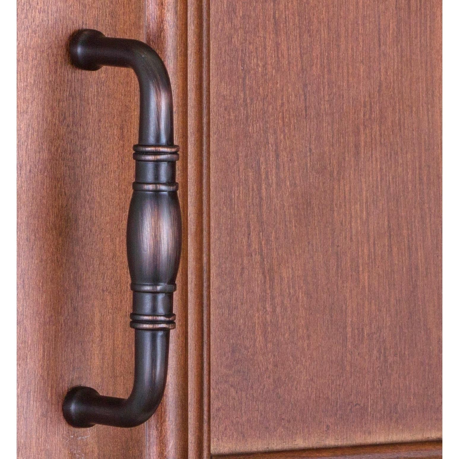 Shop GlideRite 3-inch CC Oil Rubbed Bronze Cabinet Hardware Cabinet ...