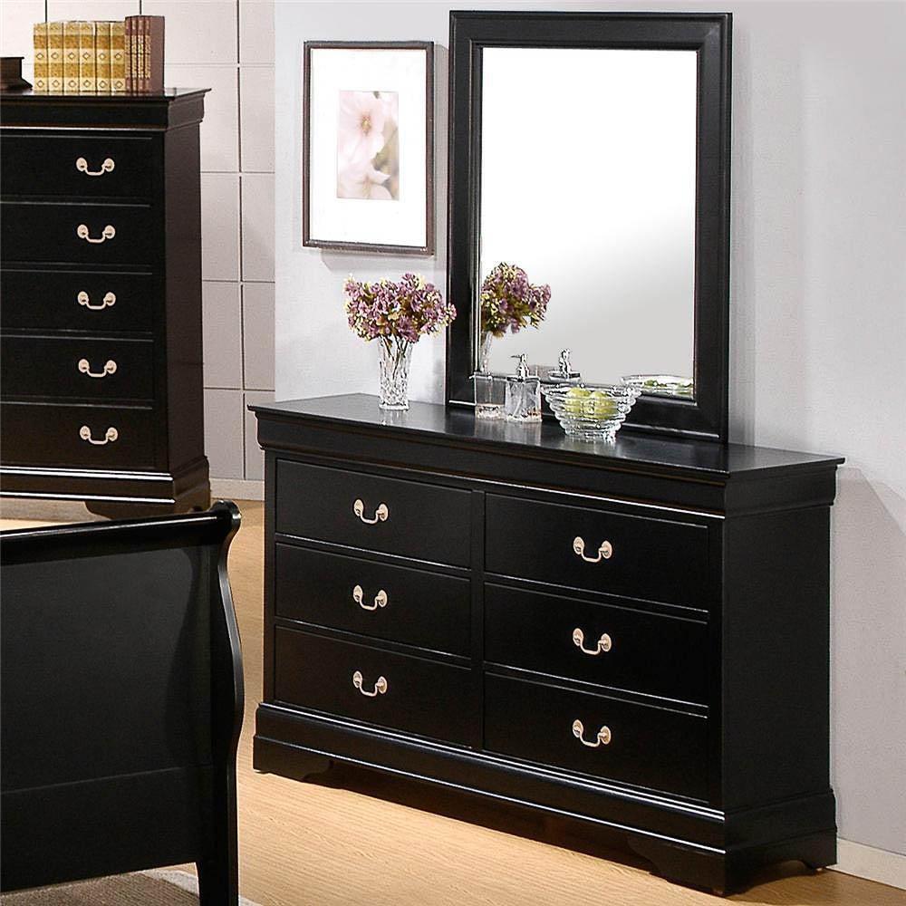 Blackhawk Black 5 Piece Bedroom Set   Free Shipping Today   Overstock.com    17161349