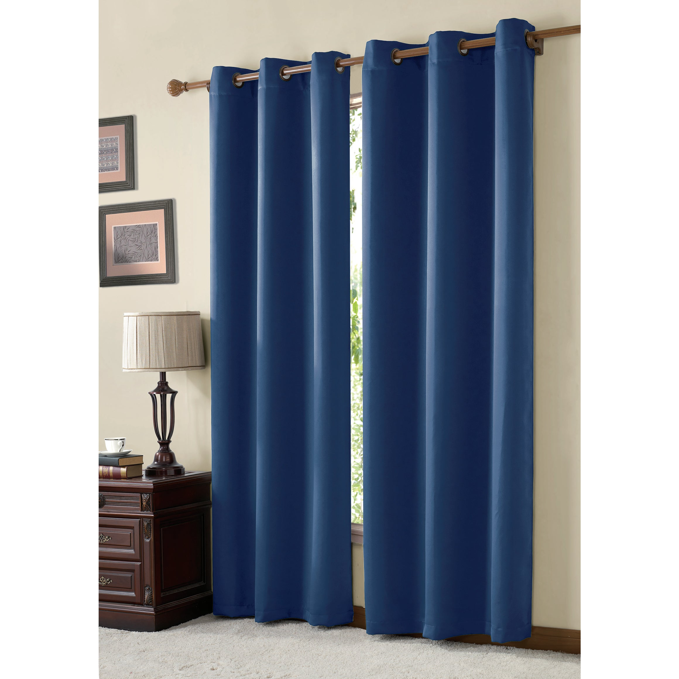 VCNY McKenzie Twill Curtain Panel - Free Shipping On Orders Over $45 -  Overstock.com - 17161439