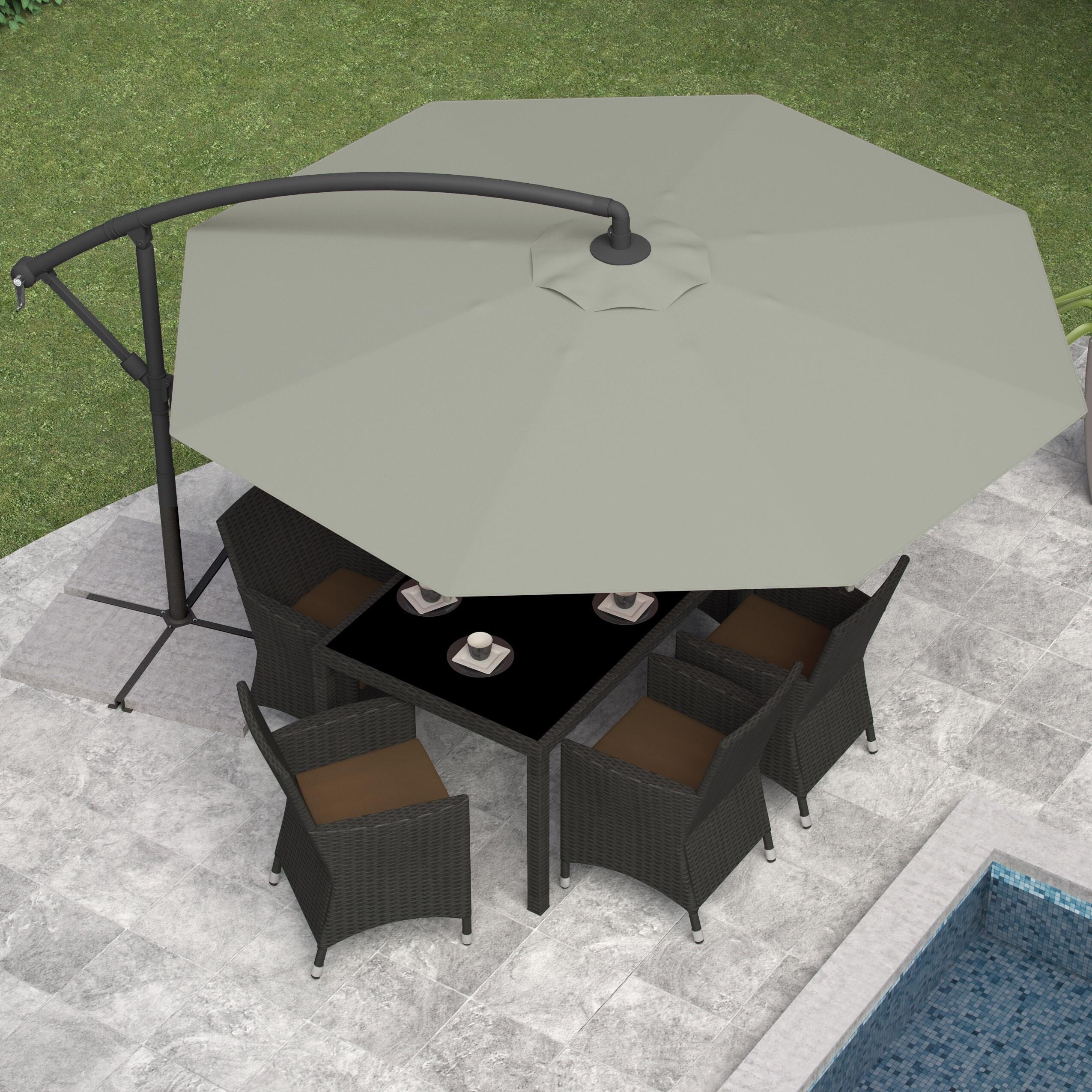 CorLiving fset Patio Umbrella Free Shipping Today Overstock