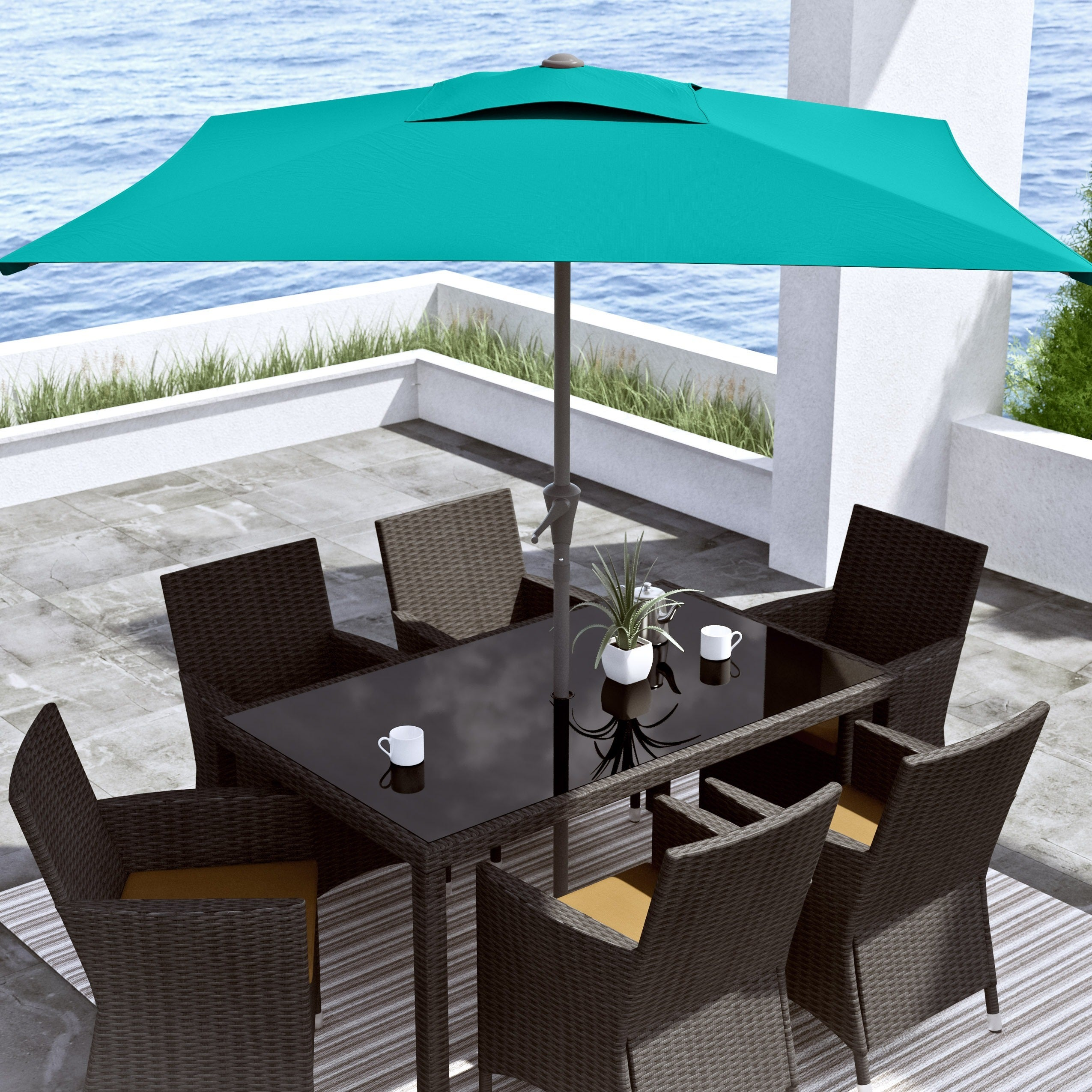 Corliving Square Patio Umbrella Free Shipping Today 10014632