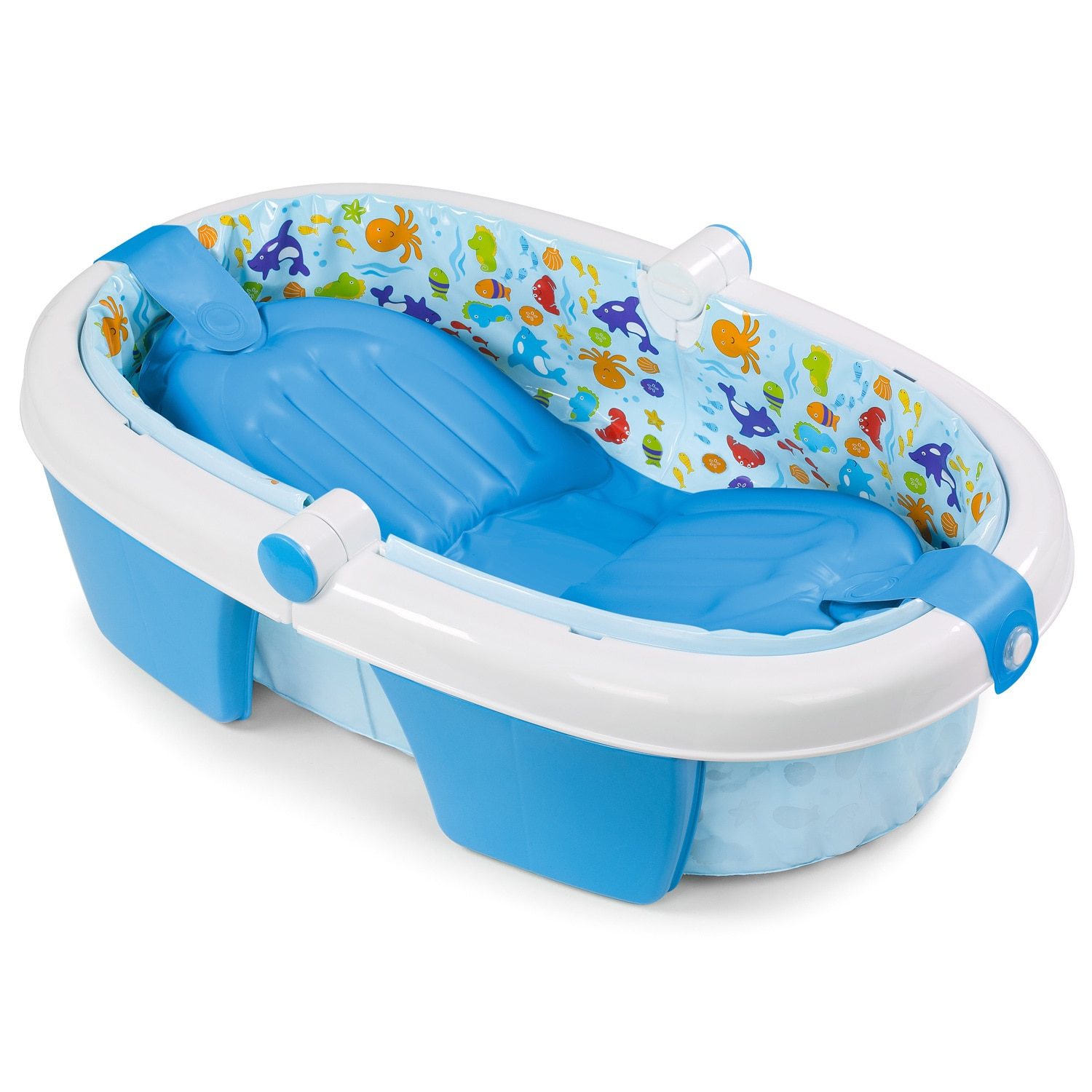 Shop Summer Infant Neutral Fold-away Baby Bath - Free Shipping On ...