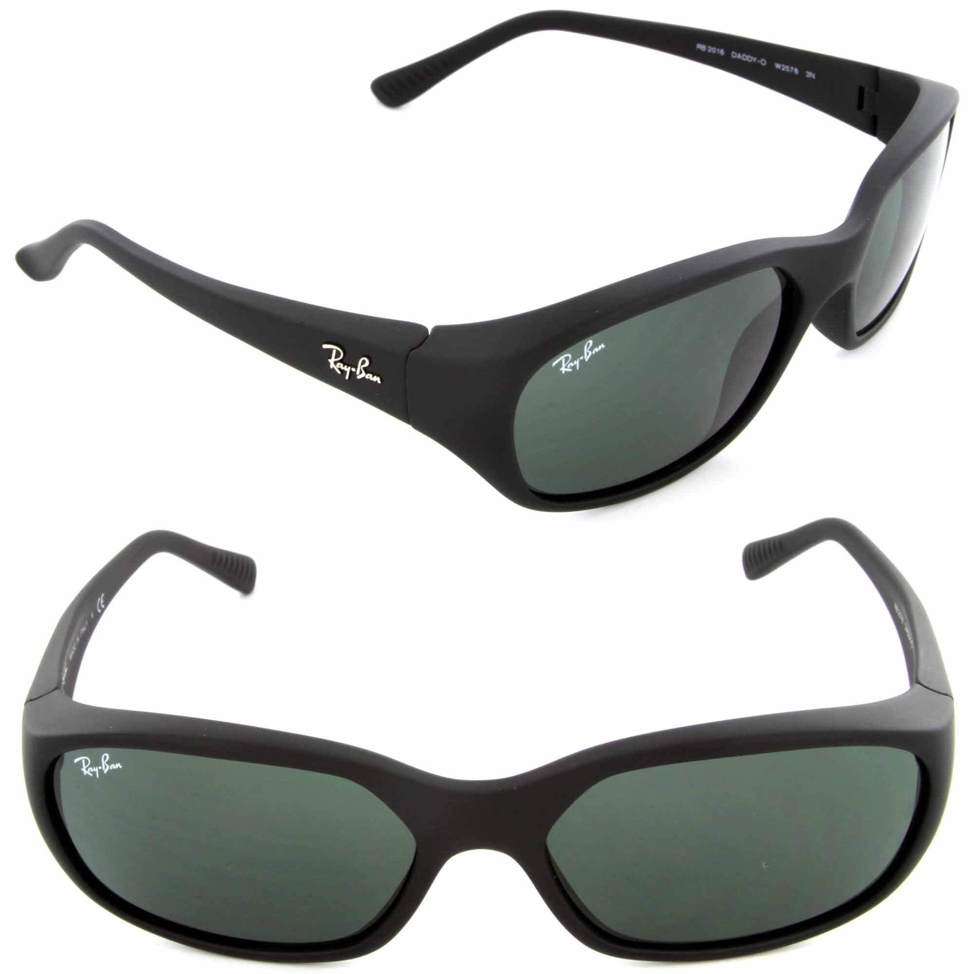 d8e6a93cdf Shop Ray-Ban DADDY-O SQUARE WRAP SUNGLASSES RB 2016 W2578 - Free Shipping  Today - Overstock - 10022925