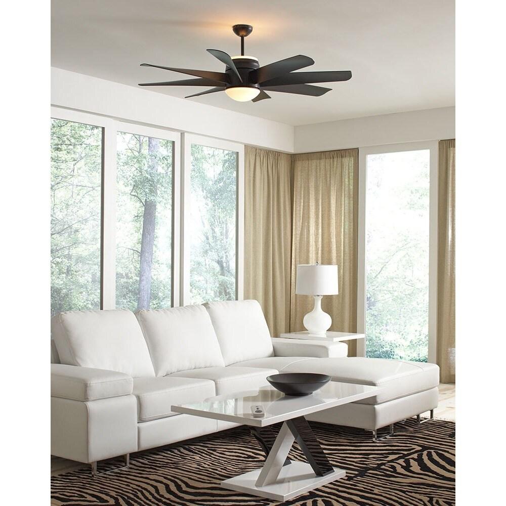 Monte Carlo Turbine Black 56 inch Ceiling Fan
