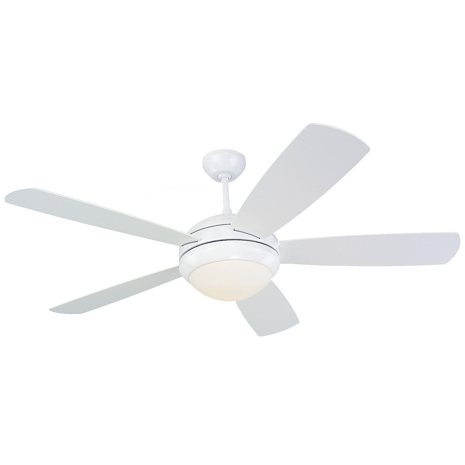 Monte carlo discus white 52 inch ceiling fan free shipping today monte carlo discus white 52 inch ceiling fan free shipping today overstock 17170314 aloadofball Choice Image
