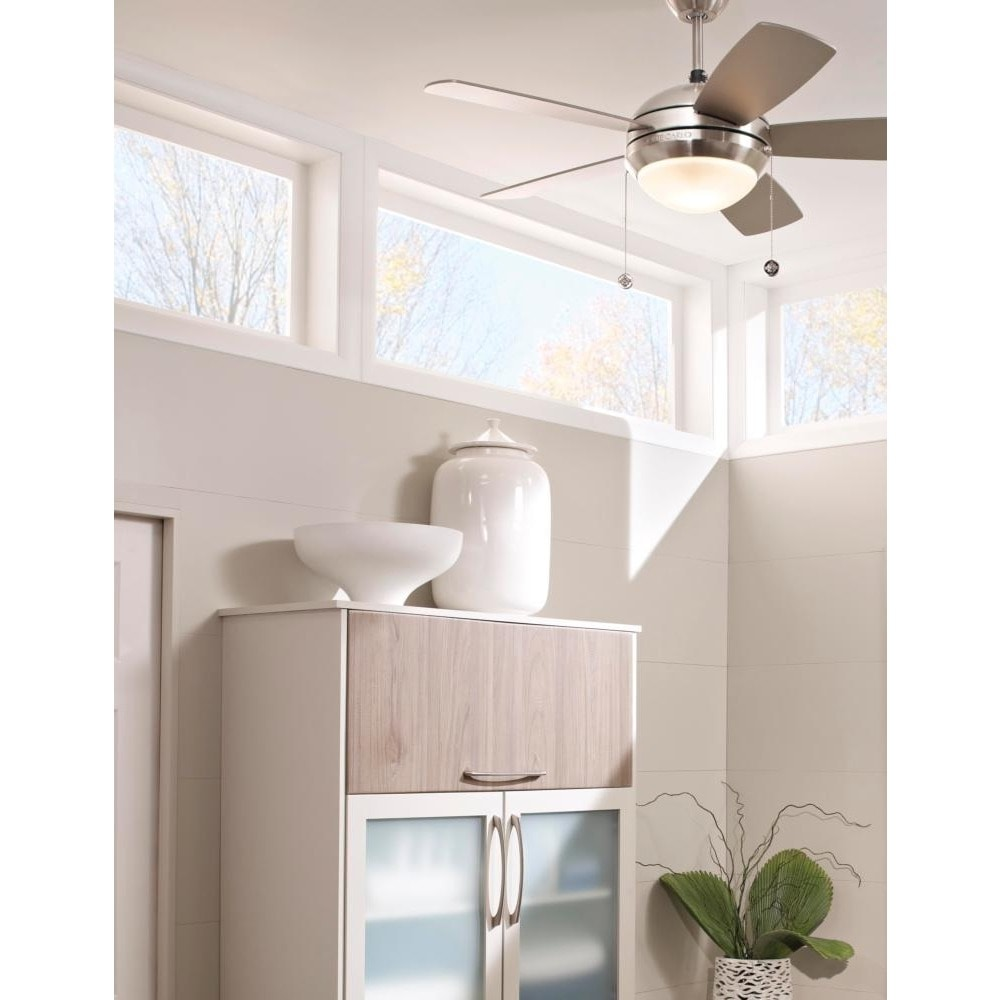 Shop monte carlo discus ii brushed steel 44 inch ceiling fan free shop monte carlo discus ii brushed steel 44 inch ceiling fan free shipping today overstock 10024088 aloadofball Images