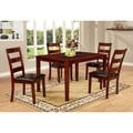 Mahogany 5-piece Dining Set