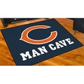 Fanmats Chicago Bears Blue NylonMan Cave Allstar Rug (2'8 x 3'8)