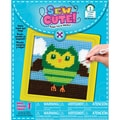 "Owl Learn To Sew Needlepoint Kit-6""X6"" Stitched In Yarn"
