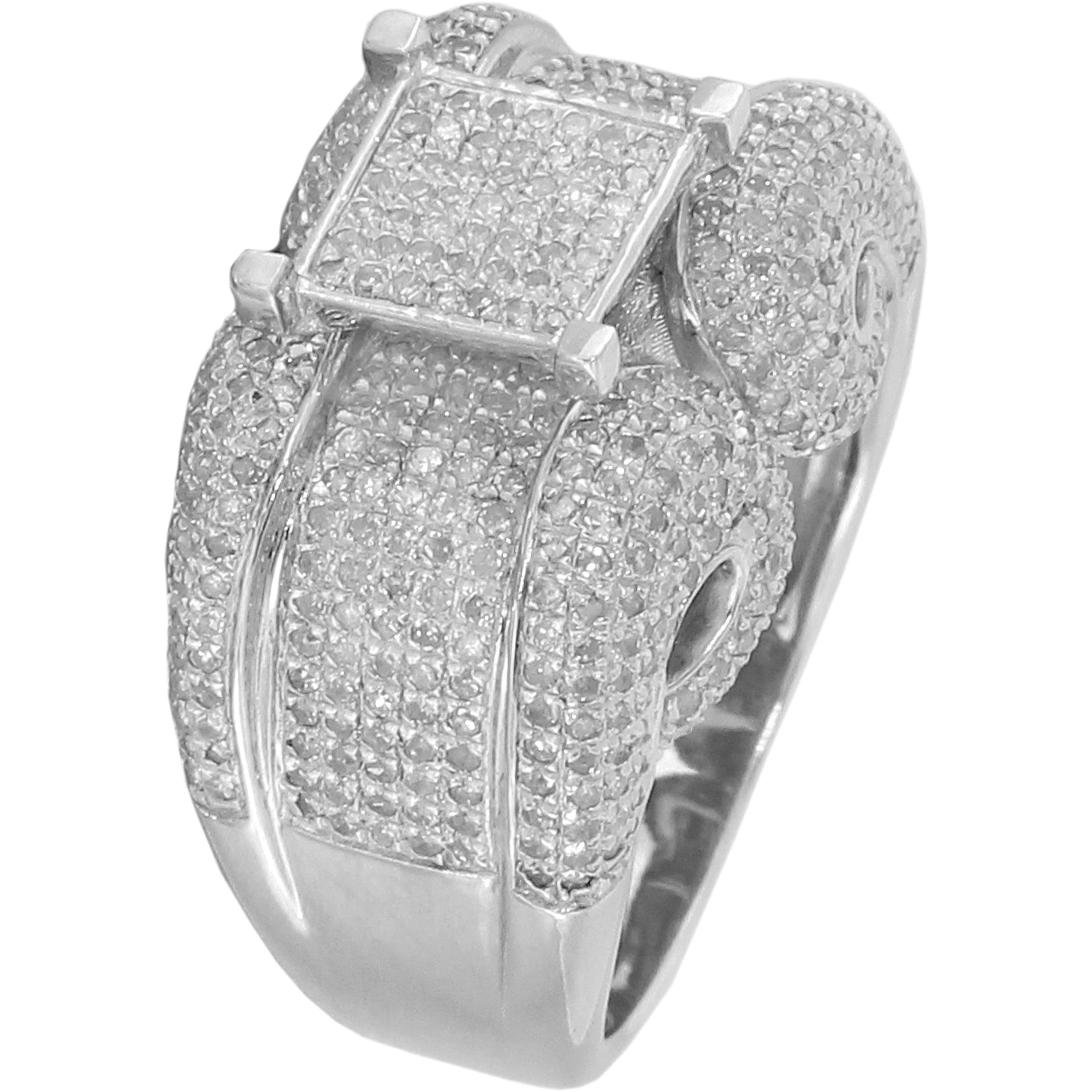 womens pave slammed guaranteed round half rings ijdr site shipping whitegold cut authenticity cz gold com cttw micro eternity worldwide ring icedjewels zirconia cubic