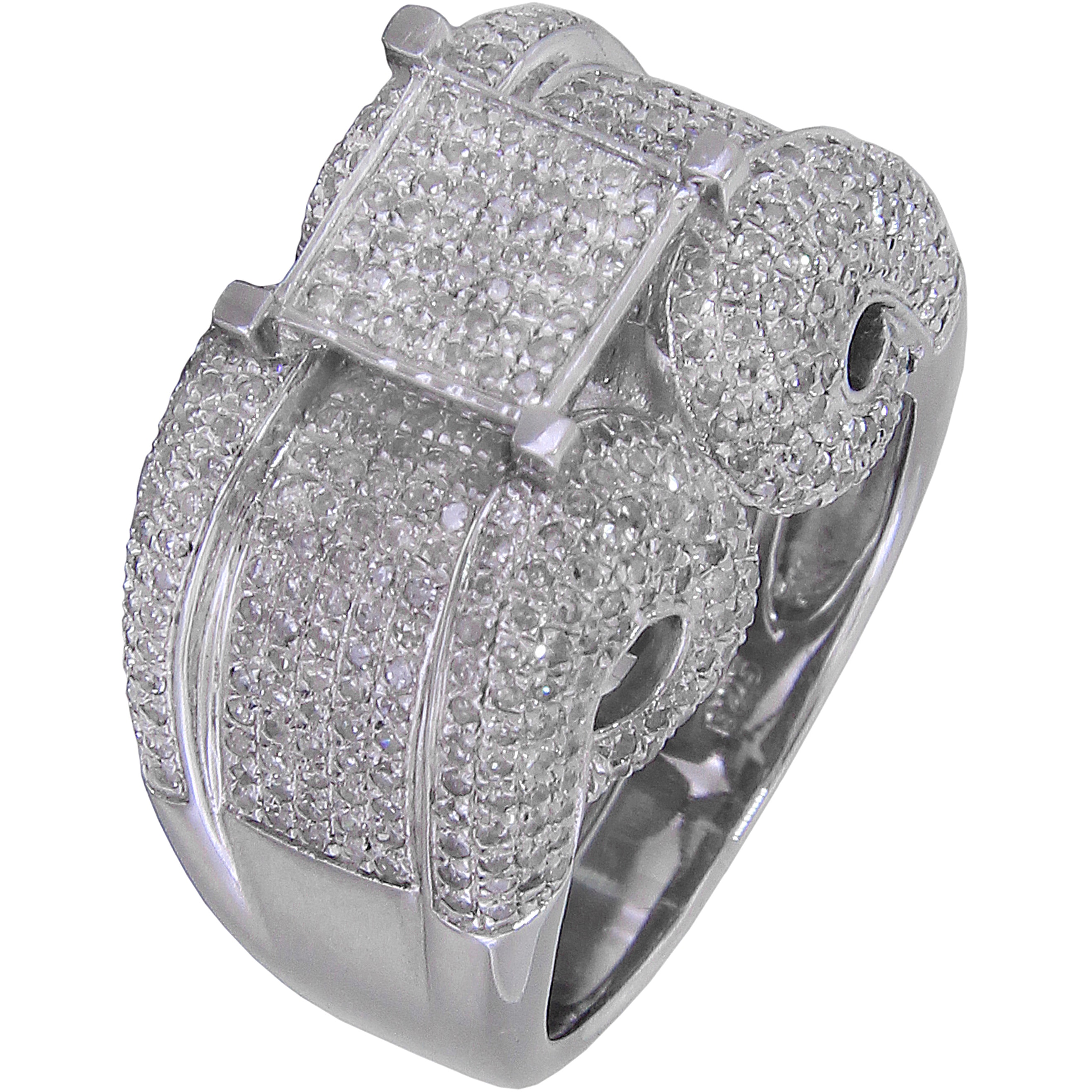 rings norman pave engagement diamond round micro halo silverman ring