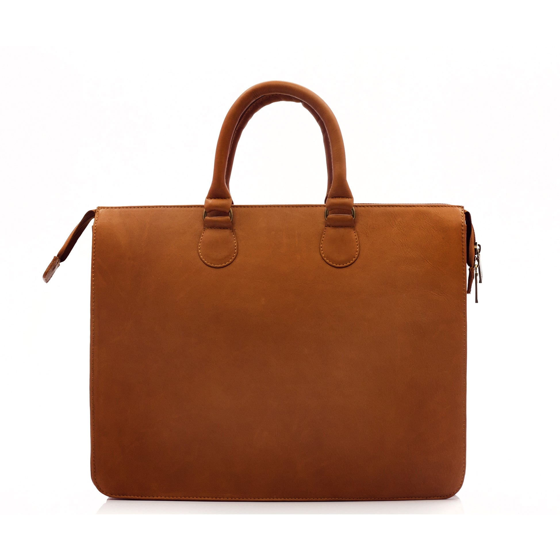 Muiska Monica Slim Vaquetta Leather Laptop Briefcase Free Shipping Today 10036462