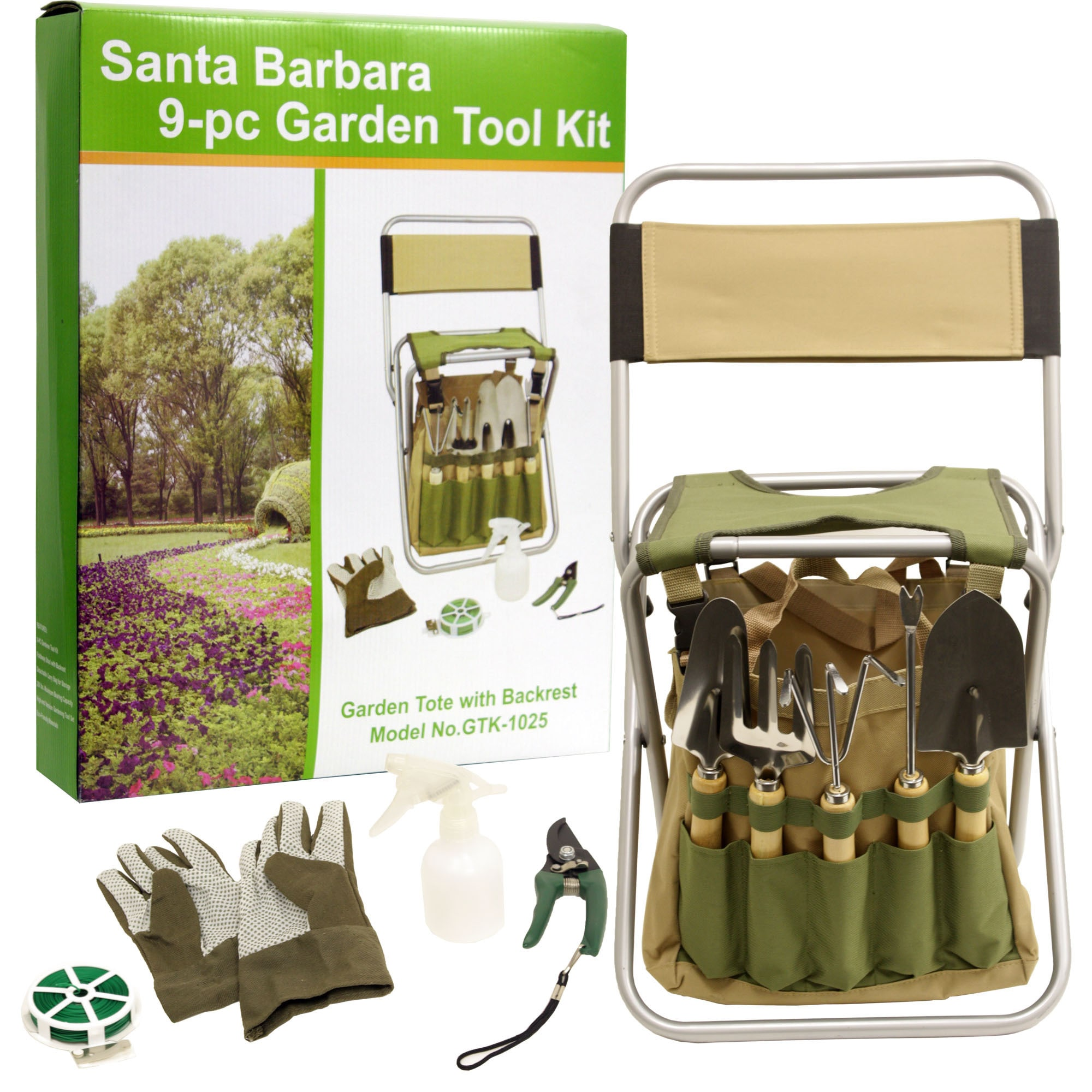 set portable iswees gardening chair stool ergonomic garden tools l with piece tool