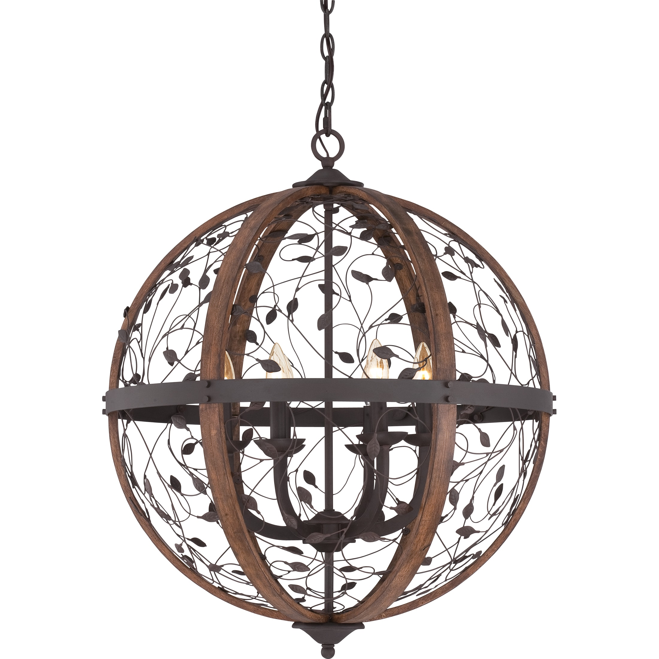 Quoizel chamber 6 light darkest bronze cage chandelier free quoizel chamber 6 light darkest bronze cage chandelier free shipping today overstock 17186668 arubaitofo Image collections
