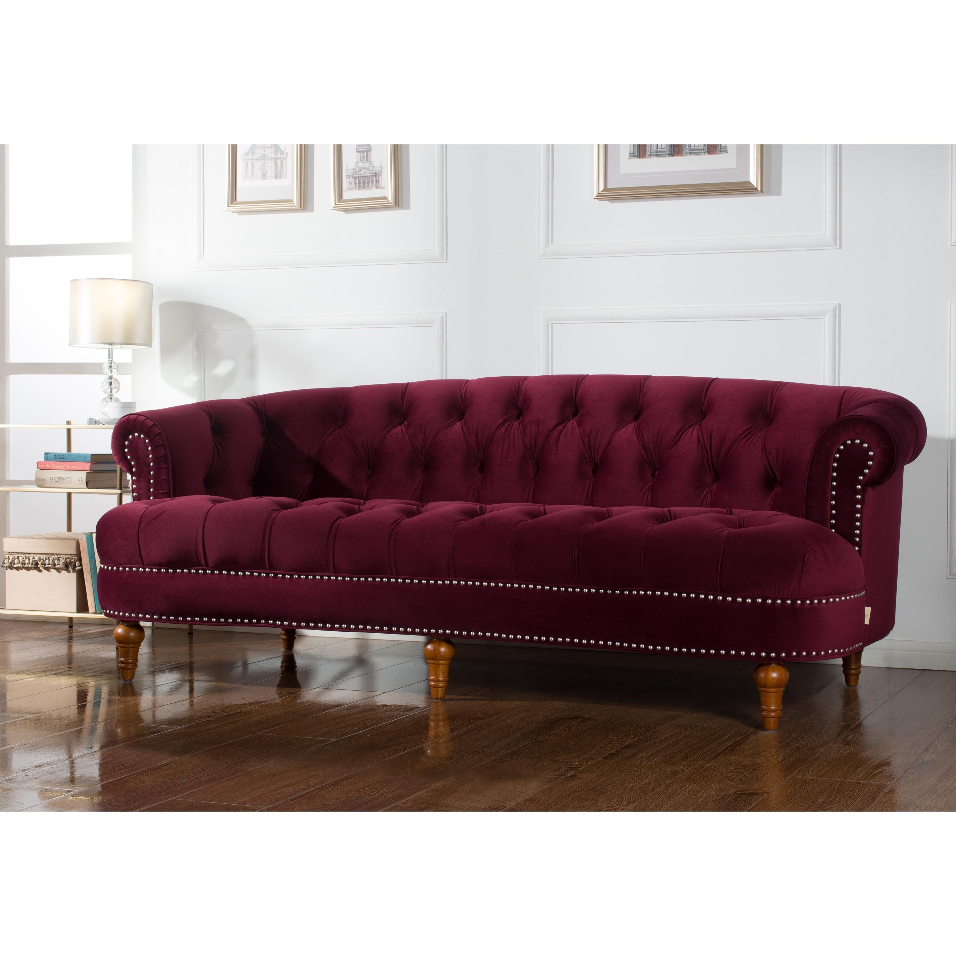 Jennifer Taylor La Rosa Chesterfield Sofa Free Shipping Today  ~ Oversized Chesterfield Sofa