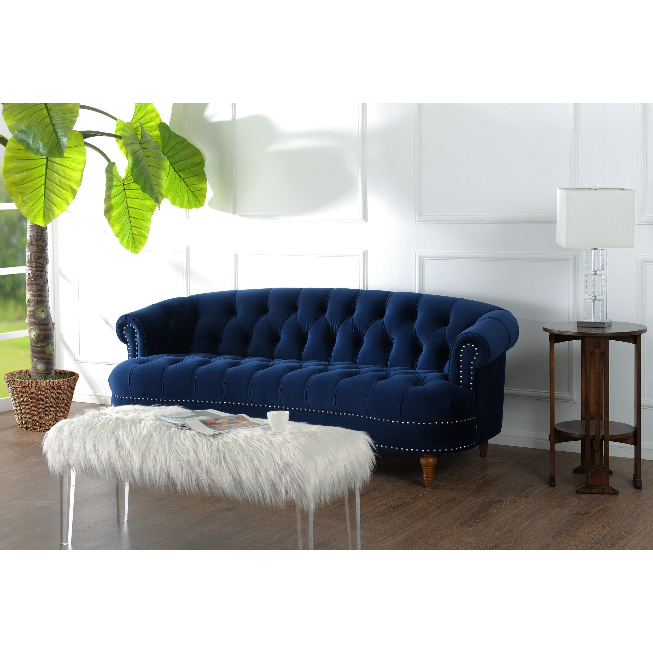Genial Shop Jennifer Taylor La Rosa Chesterfield Sofa   On Sale   Free Shipping  Today   Overstock.com   10046633