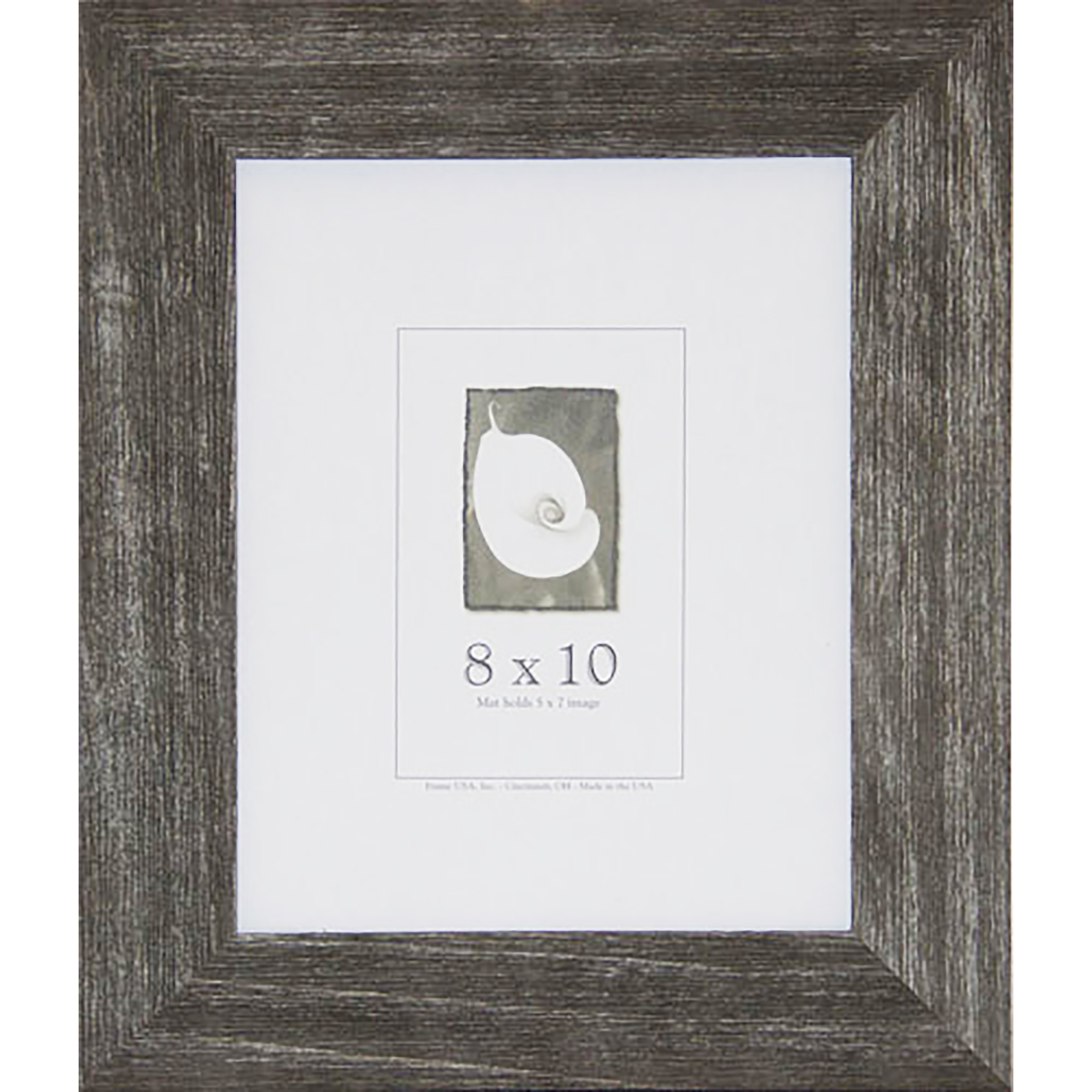 Shop Farmhouse Barnwood Picture Frame (8-inch x 10-inch) - Free ...