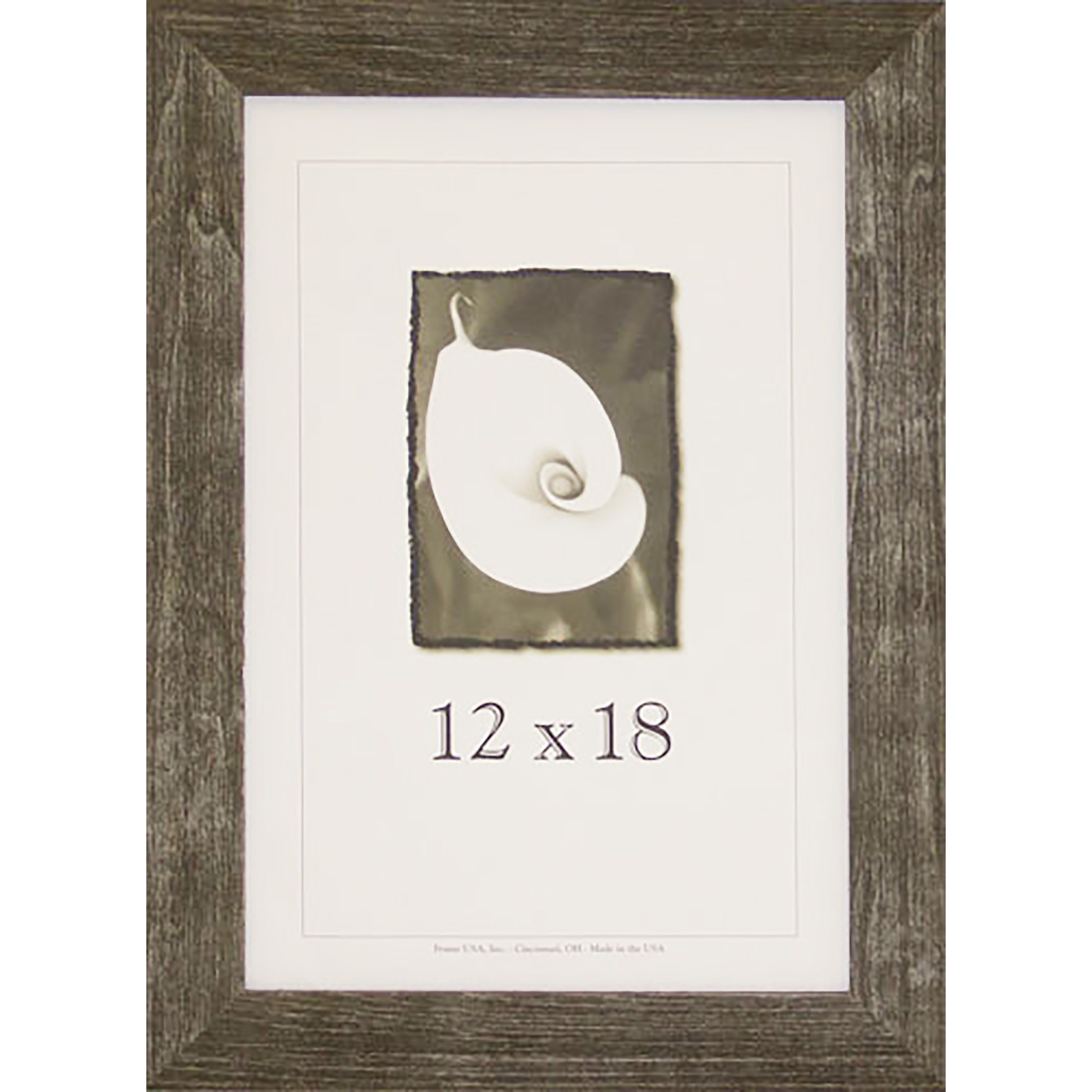 Farmhouse Barnwood Picture Frame (12-inch x 18-inch) - Free Shipping ...